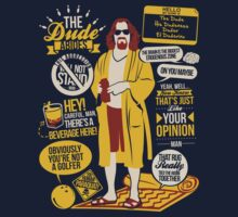 The Dude Quotes | Unisex T-Shirt