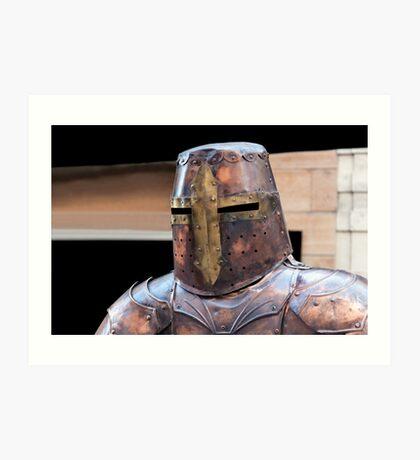 Medieval armour. Art Print