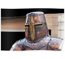 Medieval armour. Poster