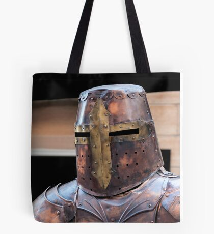 Medieval armour. Tote Bag