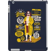 The Dude Quotes iPad Case/Skin