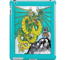 final fight (vertical) back iPad Case/Skin