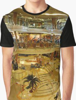 Cruise ship panorama Graphic T-Shirt