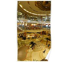 Cruise ship panorama Poster