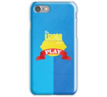 The Lemon is in Play iPhone Case/Skin