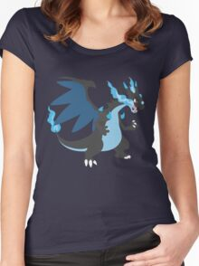 Mega Charizard Women's Fitted Scoop T-Shirt