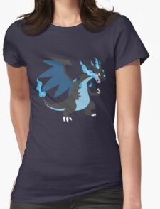 Mega Charizard Womens Fitted T-Shirt