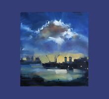 Cloud over Docklands ~ oil painting Unisex T-Shirt