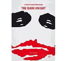 No245 My The Dark Knight minimal movie poster Photographic Print