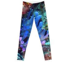 Giant Purple Sea Anemone Leggings