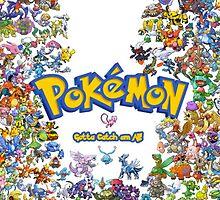 Pokemon Gotta Catch Em All by mvettese