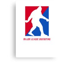 MLB Major League Bigfooting  Canvas Print