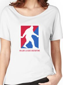 MLB Major League Bigfooting  Women's Relaxed Fit T-Shirt