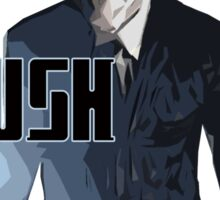 Dr Who - Hush (Silence) Sticker