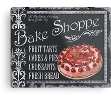 Bake Shoppe Metal Print