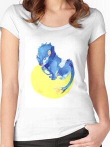 Watercolor Luxray  Women's Fitted Scoop T-Shirt