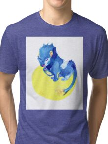 Watercolor Luxray  Tri-blend T-Shirt