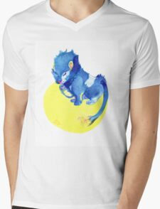 Watercolor Luxray  Mens V-Neck T-Shirt