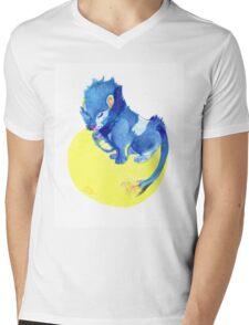 Watercolor Luxray  Mens V-Neck T-Shirt