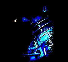 Dalek Beta – Blue by Steven Miscandlon