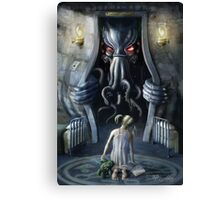 Cthulhu Entering our World: Wishful Thinking Canvas Print