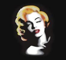 Marilyn Monroe Golden Hair Kids Clothes