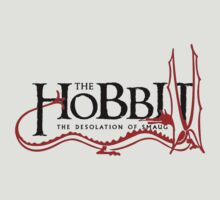 The desolation of smaug t- shirt by Fizziponi