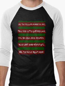 Freddy's Poem Men's Baseball ¾ T-Shirt