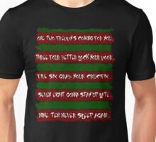 Freddy's Poem Unisex T-Shirt