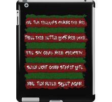 Freddy's Poem iPad Case/Skin