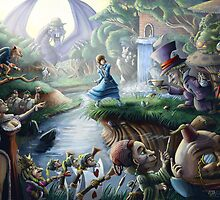 Alice In Wonderland : Controlled Chaos  by ItoSaithWebb
