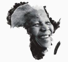 Nelson Mandela by vtealvarez