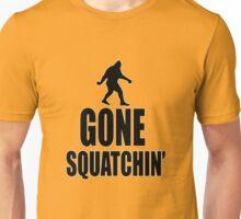 Gone Squatchin' Bigfoot  Unisex T-Shirt