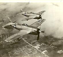 Republic P-47N Thunderbolt by John Schneider