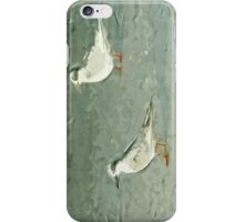 Forsters Tern on Beach Abstract Impressionism iPhone Case/Skin
