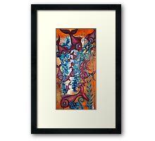 FIFTEEN NIBBLERS Framed Print