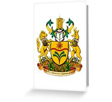 Town of Taber Coat of Arms Greeting Card