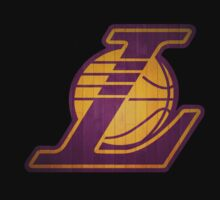 LA Lakers (Parquet maded) Logo BIG by SteliosPap92