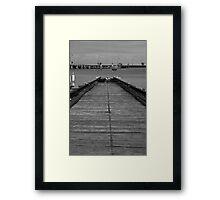 West Beach - St Kilda Framed Print