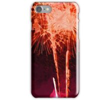 Fireworks Abstract Impressionism iPhone Case/Skin