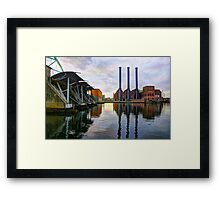 Powering Providence Framed Print