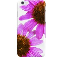 Echinacea Flower Abstract Impressionism iPhone Case/Skin