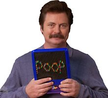 Ron Swanson - Poop by Lesternyguarded