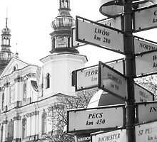 Signs from Krakow by Andrea  Muzzini