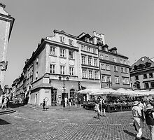Old Town, Warsaw by Andrea  Muzzini