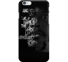 Samuel L Jackson Monologue iPhone Case/Skin