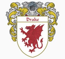 Drake Coat of Arms/Family Crest by William Martin