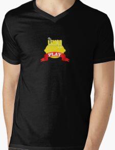 The Lemon is in Play Mens V-Neck T-Shirt