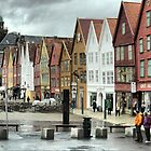 Bergen Harbour (3) by Larry Lingard-Davis