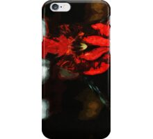 Rattled Rooster Abstract Impressionism iPhone Case/Skin